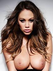She has hard nipples and big natural..