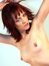 Hot redhead with a tight and totally..