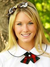Hot teen in super sweet schoolgirl..