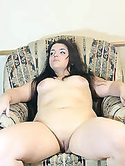 Horny fat college girl riding pink..