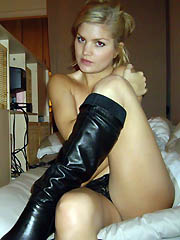 Gorgeous amateur babes in hot boots