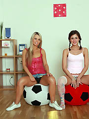Caprice and her sexy girlfriend fuck 2..