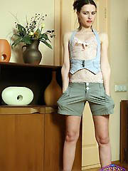 Beautiful young goddess Karla isn\'t..